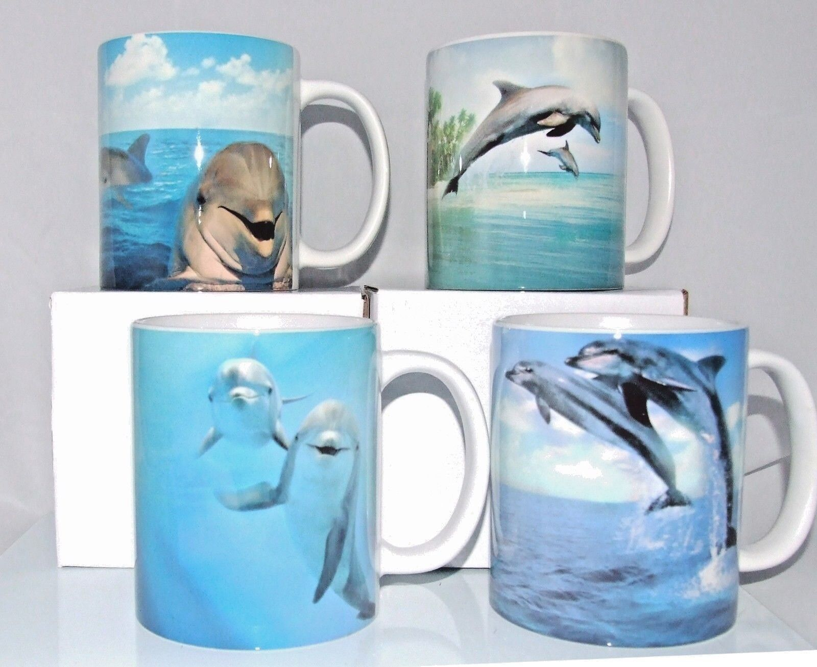 DOLPHIN PERSONALISED GIFT MUG with own text cool mugs coffee mug birthday