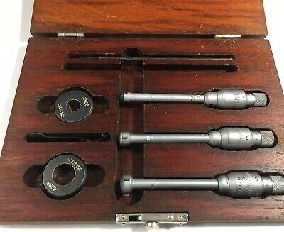 Brown Sharpe 599-282 Intrimik Internal Micrometer Set .275-.500 Range