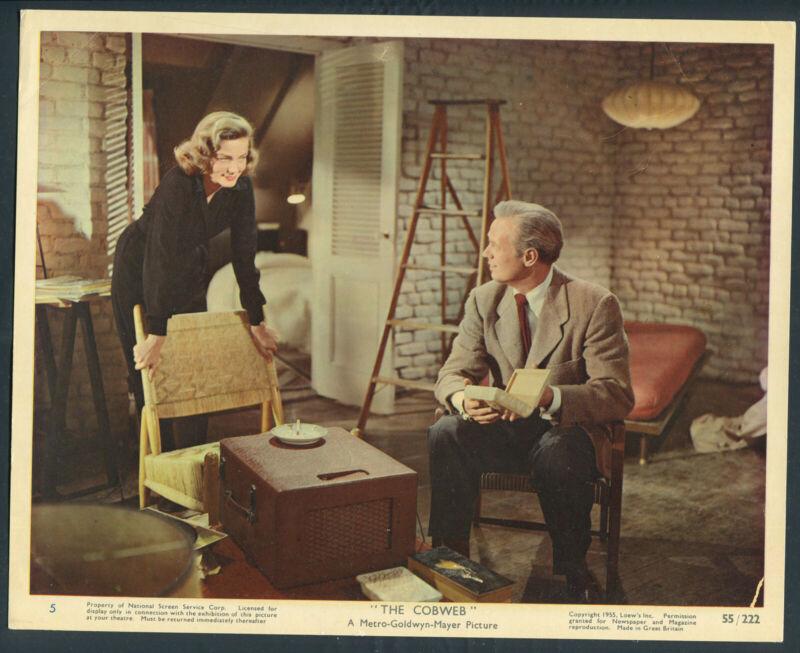 LAUREN BACALL RICHARD WIDMARK  The Cobweb '55