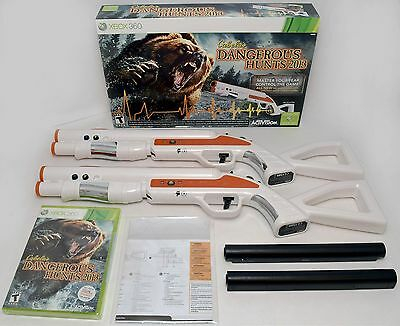 NEW 2-GUN BUNDLE XBox 360 Cabela