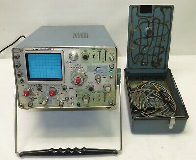 Tektronix Ibm 454a 150mhz 2-channel Analog Oscilloscope Probes Bundle Tested