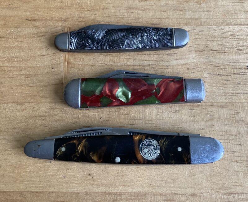 Vintage Pocket Knife Lot