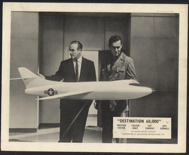 Destination 60000 '57 PRESTON FOSTER PAT CONWAY MODEL AIRPLANE