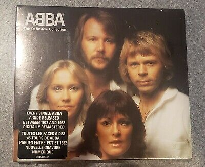 ABBA - The Definitive Collection (CD, 2001, 2-Discs) BRAND NEW FACTORY SEALED