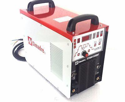 50a Plasma Cutter Simadre 200a Tig Arc Mma Welder Digital 70 Dutycycle 110220v