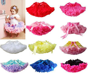 Baby-Girl-Kids-Pettiskirt-Tutu-Skirt-Dress-Party-Dance-Costume-Pageant-Clothing
