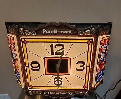 Old Style Beer Clock Vintage