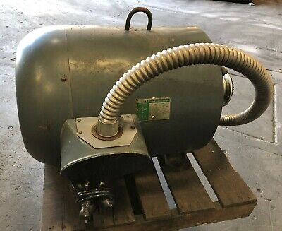 Lincoln 100 Hp 3 Phase A.c. Motor Tefc Energy Efficient