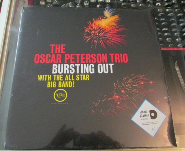 Oscar Peterson Vinyl  [LP] Bursting Out with The All Star Neu!