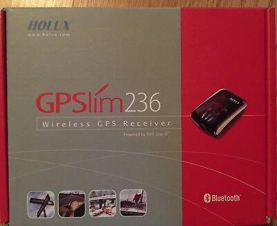 WIRELESS GPS BLUETOOTH - GPSLIM 236 HOLUX - POWERED BY SiRF STAR III