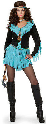 Indianerin Kostüm NEU - Damen Karneval Fasching Verkleidung (Pocahontas Kostüm Damen)