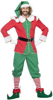 Premium Weihnachtswichtel Kostüm Melvin NEU - Herren Karneval Fasching Verkleidu