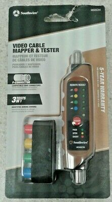 Southwire M500cx4 New Video Cable Mapper Tester