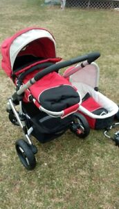 Steelcraft UK stroller with bassinet