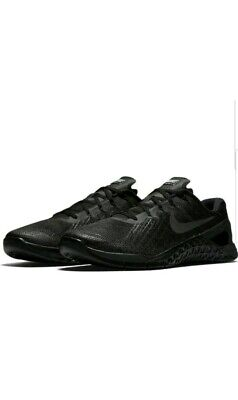 Nike Metcon 3 (Triple Black) size (UK 6)( EUR 39) (852928 002)