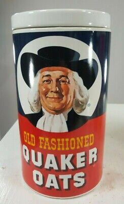 Vintage Cookie Jar Quaker Oats Collectible