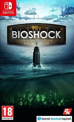 Bioshock: The Collection (Switch)  NEW AND SEALED - IN STOCK - QUICK DISPATCH