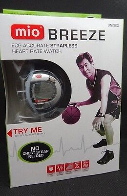 New! MIO Breeze ECG Accurate Strapless Heart Rate Watch Monitor Unisex