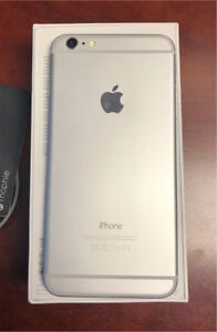 Apple iPhone 6 Plus 64GB Silver Bell Mobility Cell Phone
