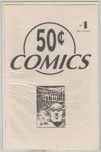 Fifty Cent Comics #1 and #2 VF/NM 1994 Phantom black and white strip reprints.