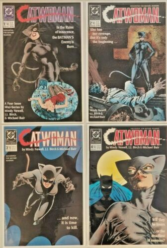 DC Catwoman 1984 New Format Mini Series Issues  #1-4 Complete VF - NM