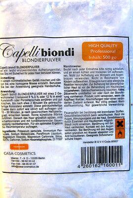 Casa Cosmetics Friseur Blondierpulver Blondierung 500g  staubfrei (€8,50/1000g)