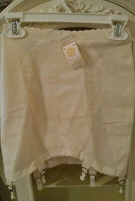 Vintage Warner's Open Bottom Girdle with 6 Garters Size - Small (New with Tag)