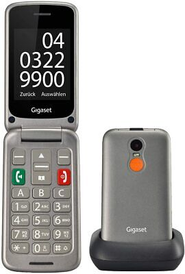 Gigaset GL590 Plegable Teléfono Móvil Mayor Con Grande Pantalla Bluetooth Sos