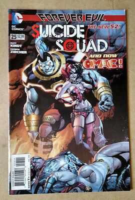 SUICIDE SQUAD #25 1ST PRINT DC COMICS (2014) NEW 52 FOREVER EVIL HARLEY QUINN (Evil Harley Quinn)