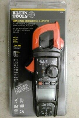 Klein Tools Cl700 600a Ac Auto-ranging Digital Clamp Meter