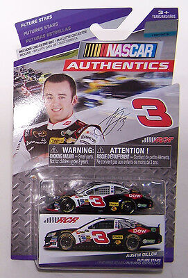 2014 Spin Master Nascar Auth Future Stars 1 64 Austin Dillon  3 Dow Chevy Ss