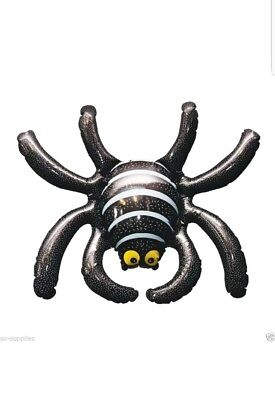 HALLOWEEN INFLATABLE ROOM DECORATION SCARY SPIDER  PARTY FREE UK P&P  - Halloween Decorations Scary Uk