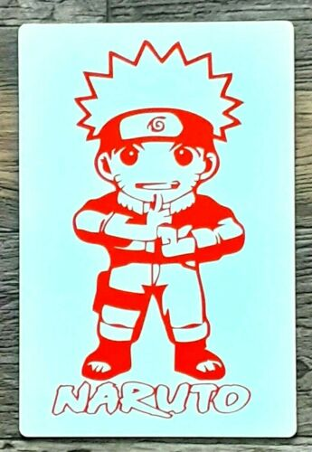 "NARUTO / Anime Sign  /Aluminum  Sign - Wall  12 x 8"""