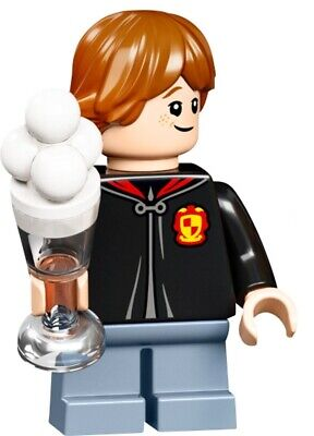 NEW LEGO Ron Weasely Minifigure + Ice Cream 75978 Harry Potter Diagon Alley