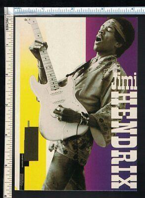 JIMI HENDRIX Postcard - Live from Woodstock Headband Hippie Oliver Books London Jimi Hendrix Headband