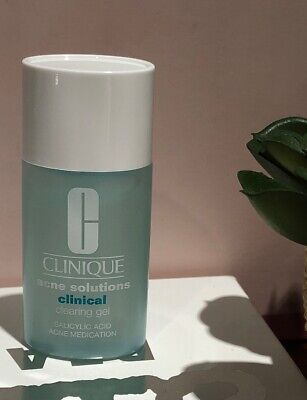Clinique Acne Solutions Clinical Clearing Gel 0.5 Oz 15 mL NWOB