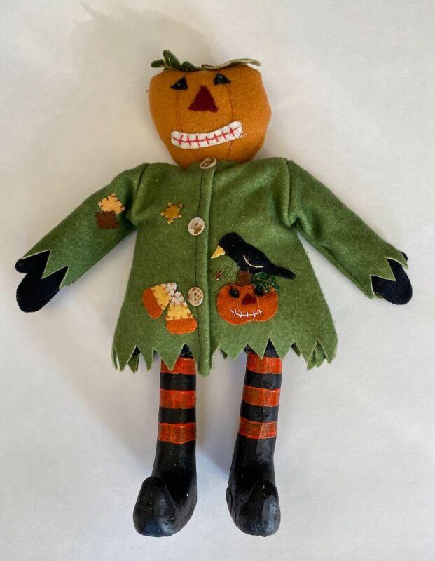 Halloween Pumpkin Man, Handmade