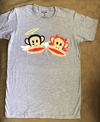 Paul Frank Graphic T-shirt - Men's size Small - Julius as Angel and Devil