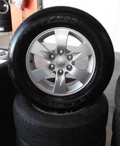 "17"" Factory Mitsubishi Triton Wheels and Tyres Toowoomba Toowoomba City Preview"