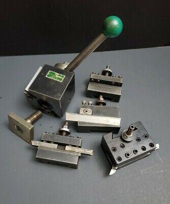 Dtm Precision Cxa Wedge Tool Post Quick Change Tool Holder Machinist Lathe 90