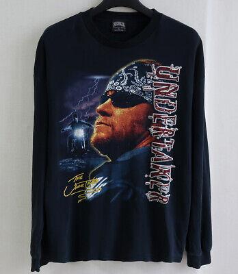 Vintage 90s Undertaker WWF WWE Fan t shirt Wrestlemania Wrestling Long Sleeve