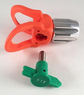 Spray Tip Guard Combo Pack Asm 55-519 Reversible Zip Tip Base Fits Graco Gun