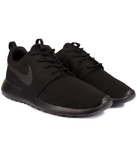 Exclusive Nike Roshe One Men's Trainer Black / Black All Sizes