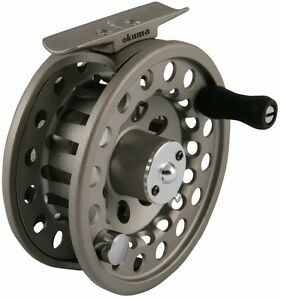 New okuma slv fly fishing reel slv78 7 8 weight ebay for Fly fishing reels ebay