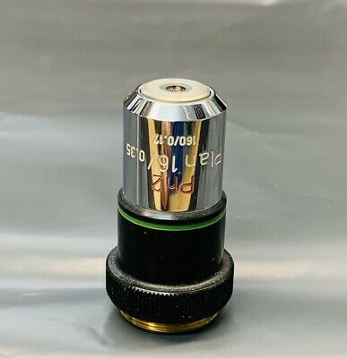 Zeiss Plan 16x0.35 - Ph2 Phase Contrast Microscope Objective 160mm