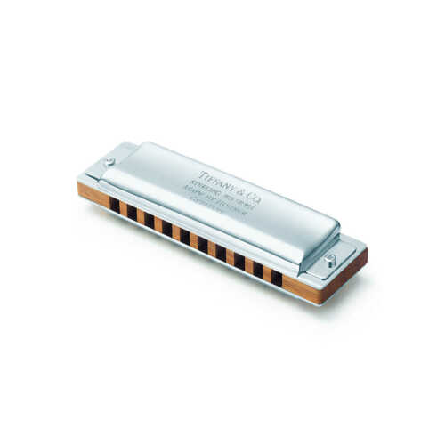 Sterling Silver Harmonica by Tiffany and Co