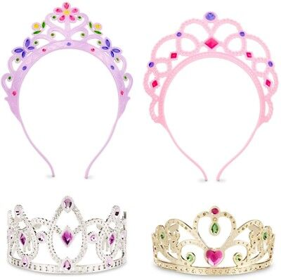 Melissa Doug Girl Dress - Melissa & Doug Dress Up Tiaras Princess Girl Toy Kid Jewel Party Crown Glitter