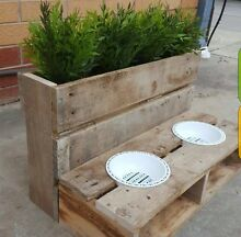 Rustic Pet Feeder Hilton West Torrens Area Preview