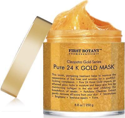 BEST 24k Gold Anti-Aging Facial Mask Anti Wrinkle Scar Pore Minimizer