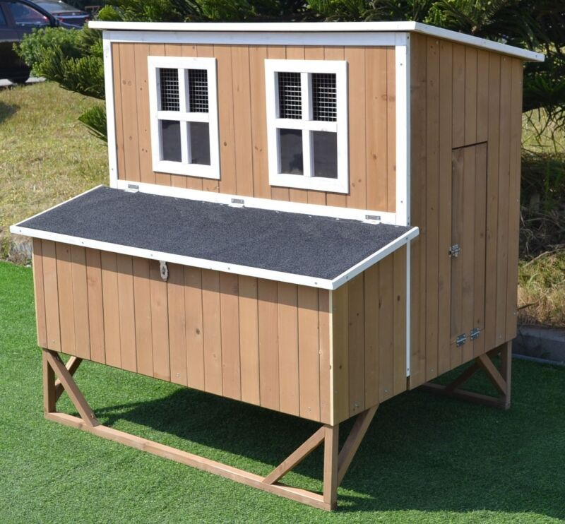 Chicken Coop Nest Box Backyard Poultry Hen House Huge 7-9 Bantams Extra Large